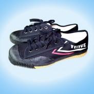 【已下架】曾经的记忆--经典大博文黑色重装上阵[真品限量] Black Feiyue Martial Arts Shoes