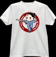 2012新款武极堂品牌白色太极剑【御剑探海2】主题T恤衫展示【已下架】