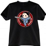 2012新款武极堂品牌黑色太极剑【御剑探海2】主题T恤衫展示【已下架】