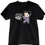 2012新款武极堂品牌黑色【手挥琵琶】T恤衫主题展示【已下架】